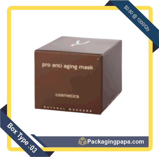 Anti-ageing Mask Packaging Boxes 3