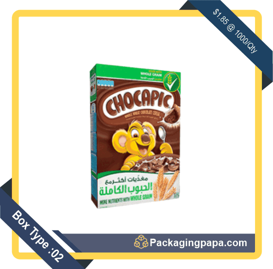 Custom Chocolate Cereal Boxes 2