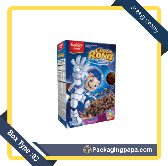 Custom Chocolate Cereal Boxes 3