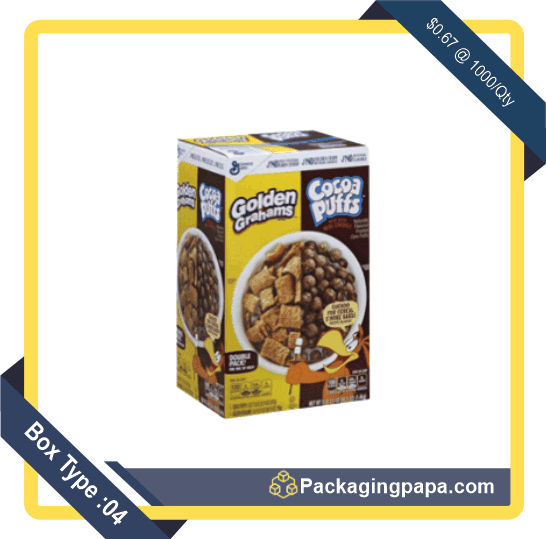 Custom Chocolate Cereal Boxes 4