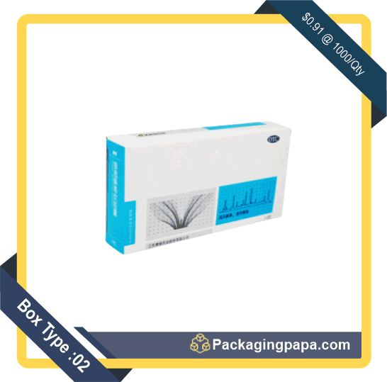 Custom Cold Medicine Packaging Boxes 2
