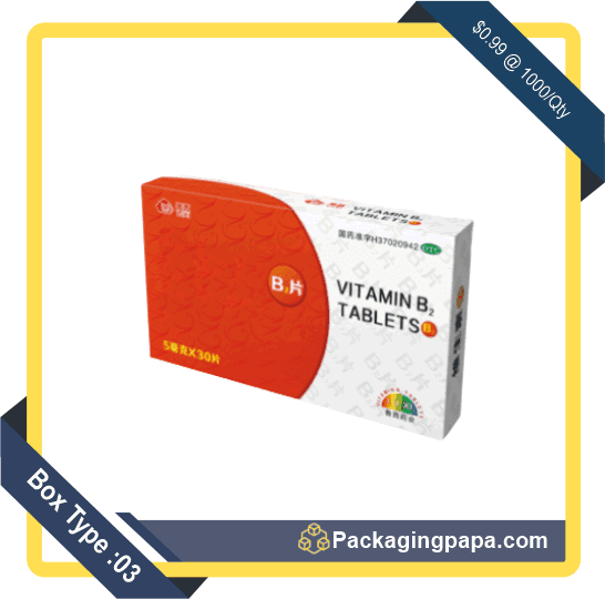 Custom Cold Medicine Packaging Boxes 3