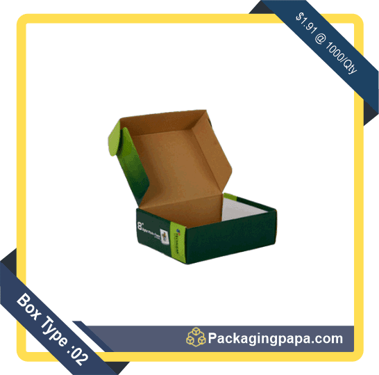 Custom Colored Mailer Boxes 2