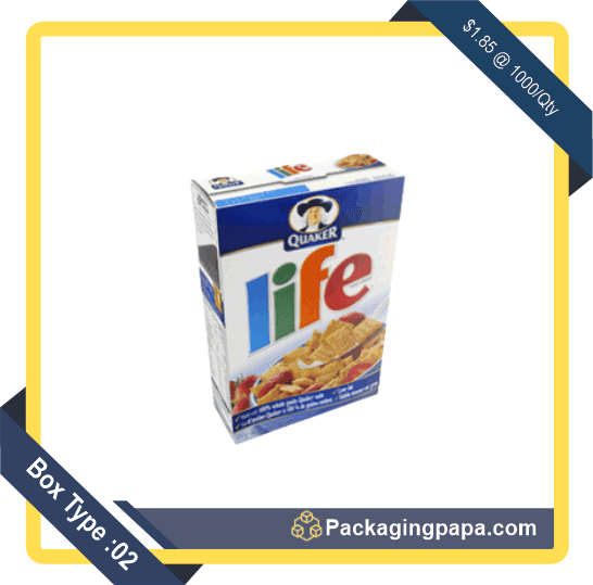Custom Corn Flakes Cereal Boxes 2
