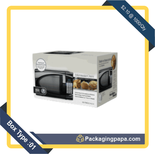 Custom Microwave Oven Packaging Boxes 1
