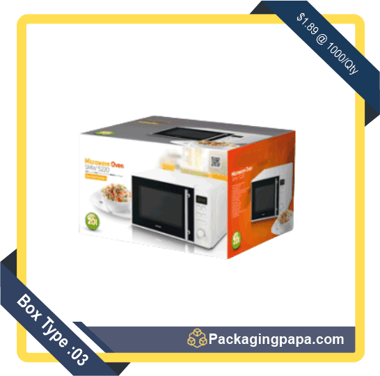 Custom Microwave Oven Packaging Boxes 3