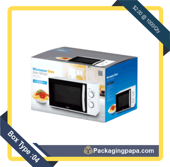 Custom Microwave Oven Packaging Boxes 4