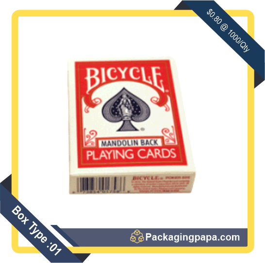 Custom Playing Card Packaging Boxes 1