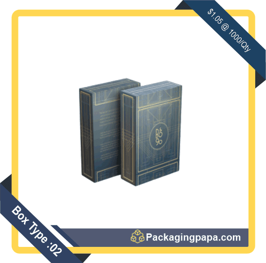 Custom Playing Card Packaging Boxes 2