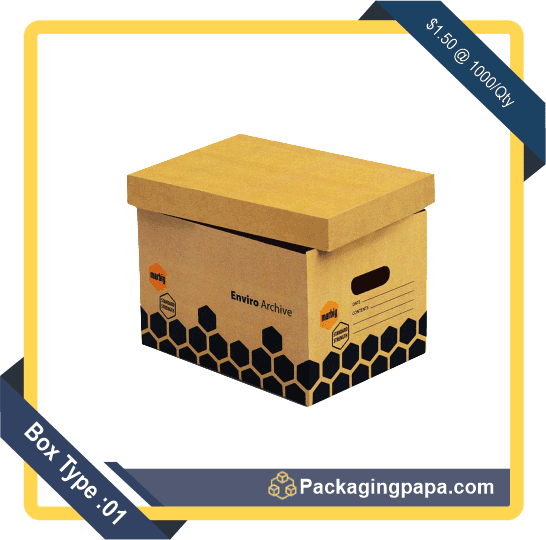 Custom Printed Archive Boxes 1