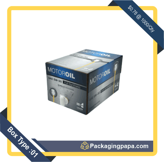 Custom Printed Automobile Packaging Boxes 1