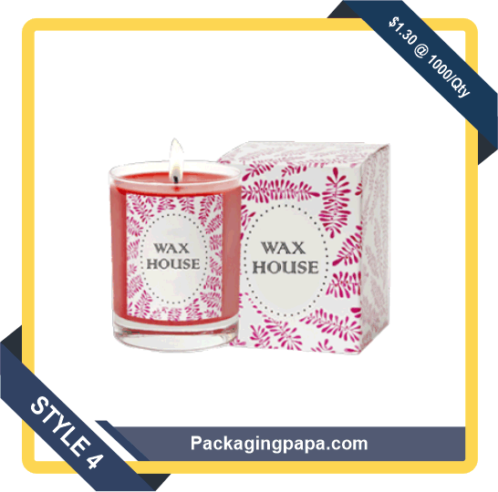 Custom Printed Candle Packaging Boxes 4