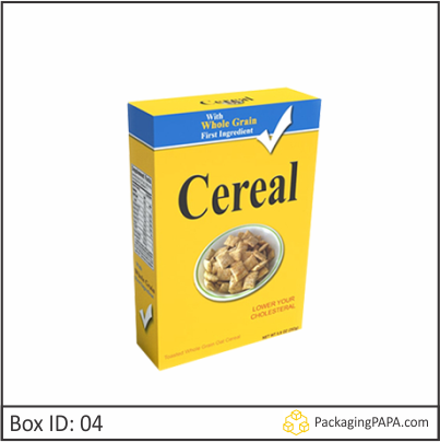 Custom Whole Grain Cereal Boxes 04