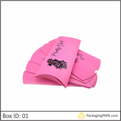 Custom Wig Pillow Boxes 01