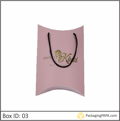 Custom Wig Pillow Boxes 03