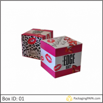 Makeup Packaging Boxes 01