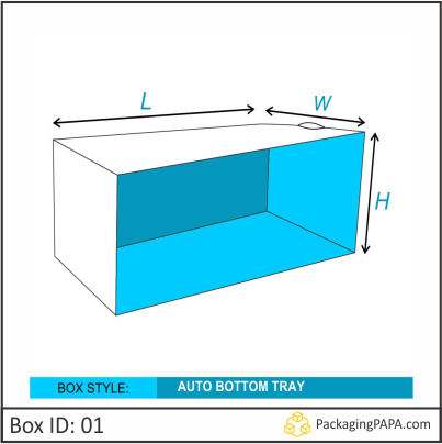 Custom Auto Tray Bottom Packaging Boxes