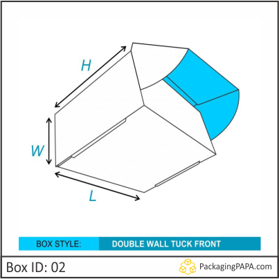 Custom Double Wall Tuck Front Boxes 02