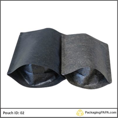 Stand Up Pouch black Kraft paper 02