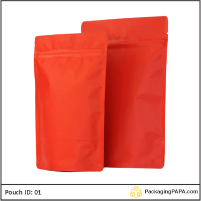 Standup Pouch Red 03